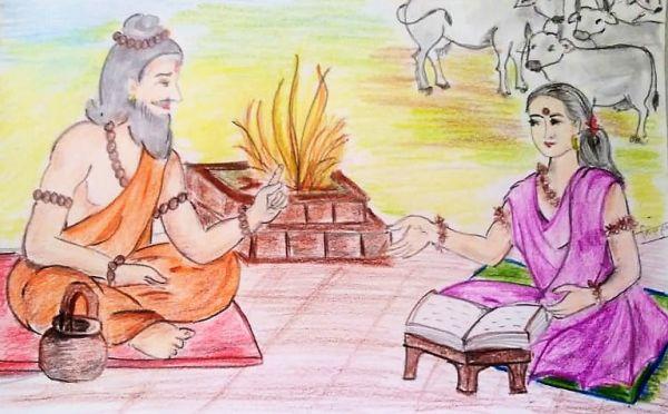 Brahmavadini Gargi (ब्रह्मवादिनी गार्गी)