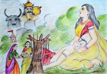 Vat Savitri Vrat Katha (वट सावित्री व्रत कथा)
