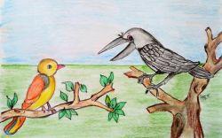 Chatur Chidya (चतुर चिड़िया)