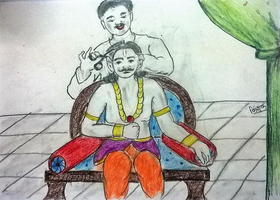 Raja Ke Chaar Kan