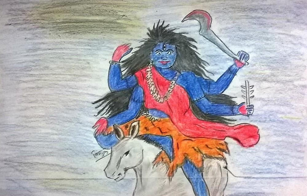 Maa Kaalratri (मां कालरात्री)