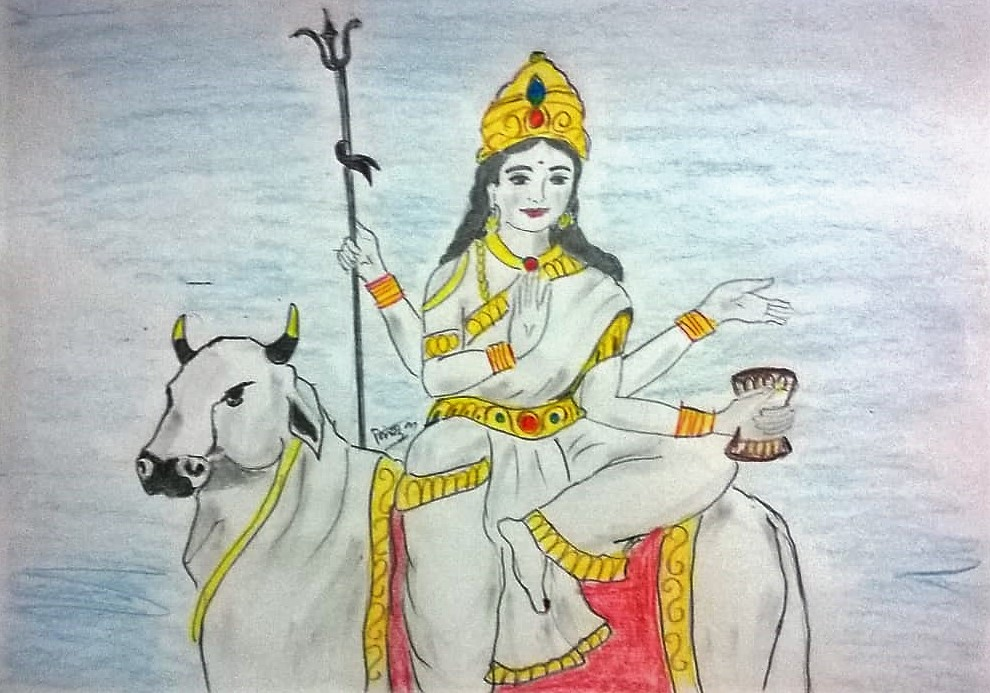 Maa Maha Gauri (मां महा गौरी)