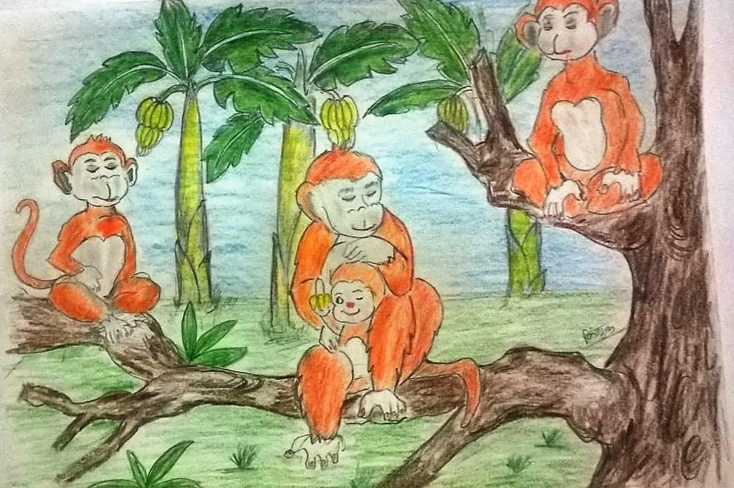 Bandraron Ka Upvas (बंदरों का उपवास)