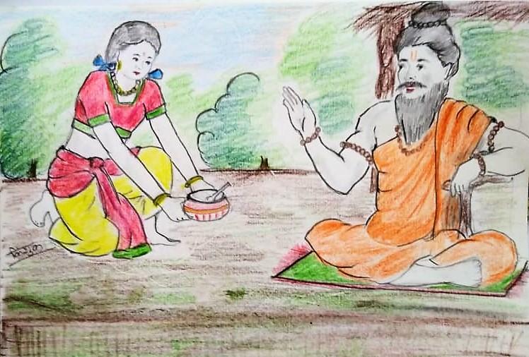 Pritha se  Maharani Kunti (पृथा से  महारानी कुंती)