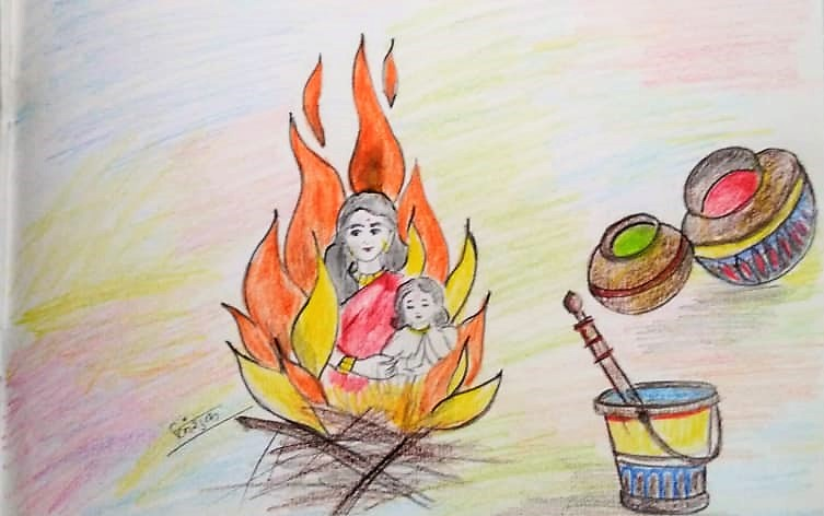 Holika Dahan (होलिका दहन)