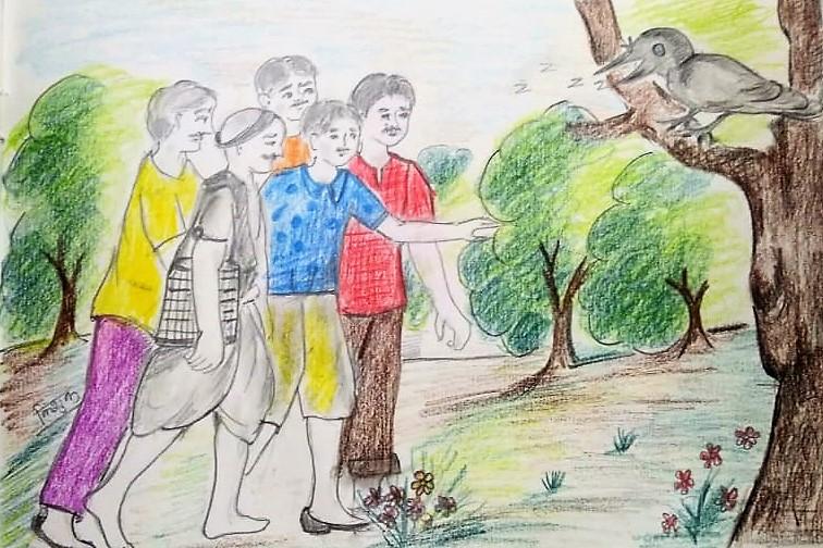 Chor Ka Balidan (चोर का बालिदान)