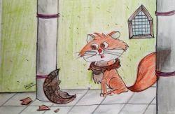 Billi Ki Jhoothi Bhakti (बिल्ली की झूठी भक्ति)
