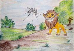 Sher Aur Machhar (शेर और मच्छर)