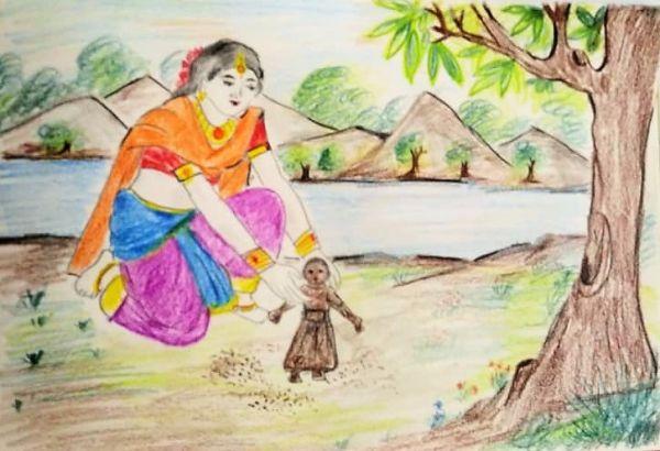 Ashok Sundari Ki Katha (अशोक सुंदरी की कथा )