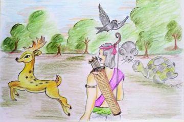 Mitra Ki Suraksha (मित्र की सुरक्षा)