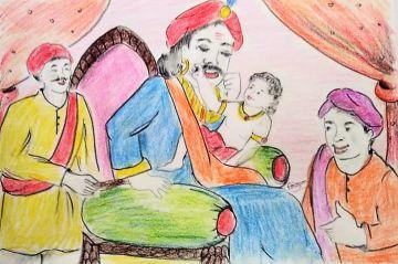 Nanha Rajkumar Aur Mooch Raja (नन्हा राजकुमार और मूछ राजा)