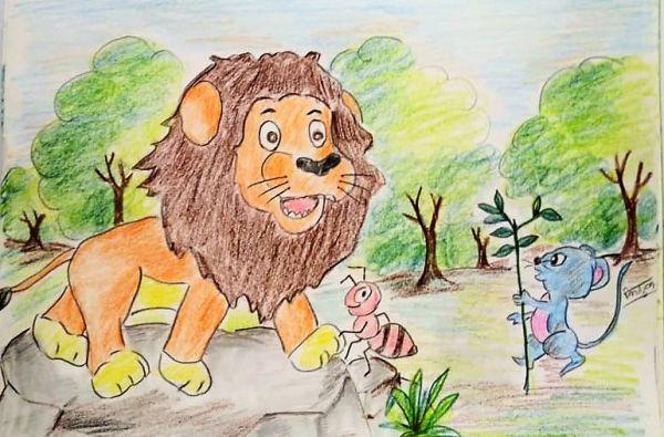 Darpok Sher (डरपोक शेर )