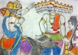 Dashanan Part-2, Ravan Aur Yam