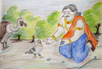 Raja Shibi Ki Kahani (राजा शिबि की कहानी)