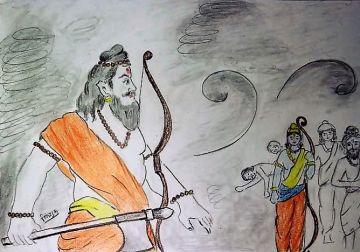 Ram Parshuram Samvad (राम परशुराम संवाद)