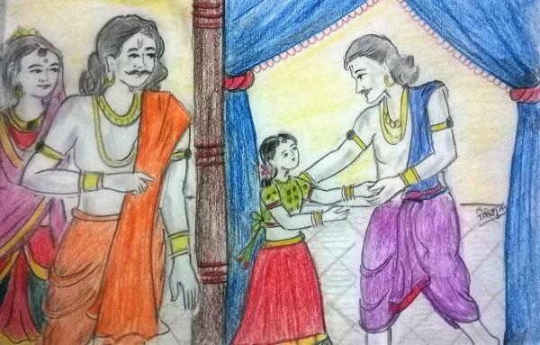 Dashrath Kaushalya Ki Putri Shanta Part-1
