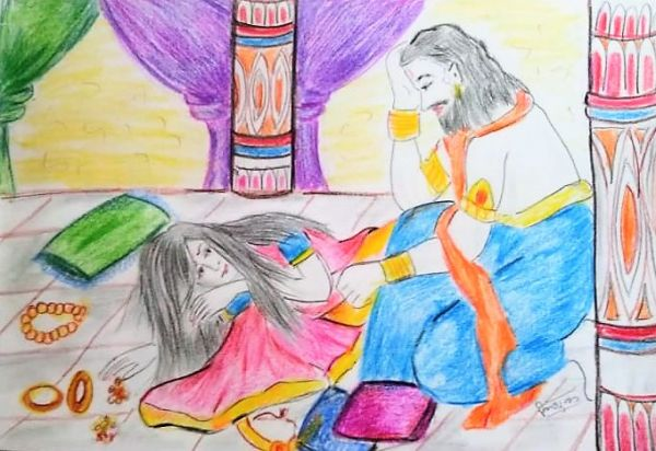 Dashrath Kaikai Samvad (दशरथ कैकई संवाद)