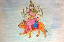Maa Kushmanda (माँ कुष्मांडा)