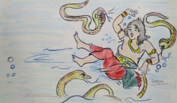Bhim Nag Lok Mein (भीम नाग लोक में)
