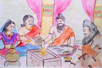 Raja Ambrish Aur Rishi Durvasa Ki Katha (राजा अम्ब्रीश और ऋषि दुर्वासा की कथा)
