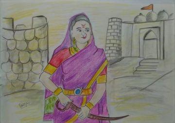 Rajmata Jija Bai (राजमाता जीजा बाई)